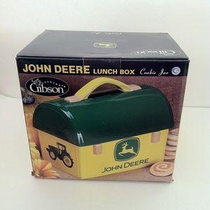 John Deere Cookie Jar Lunch Box